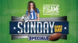 Sunday Game Day Specials