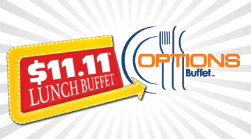 Lunch Buffet for $11.11