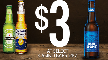 Cold And Refreshing Beer Only $3!