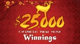 Be an instant winner of up to $25,000 cash!