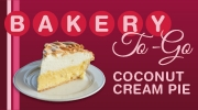Coconut Cream Pie for only $10!