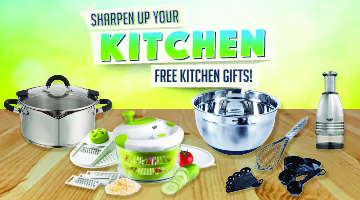 Earn Points for Kitchen Gifts!