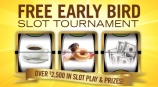 Over $2,500 in Slot Play & Prizes