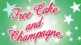 Free Cake and Champagne on May 27