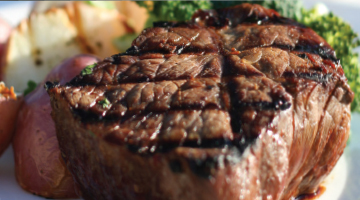 Try Our Sizzlin' Steak Dinner for Only $15.49
