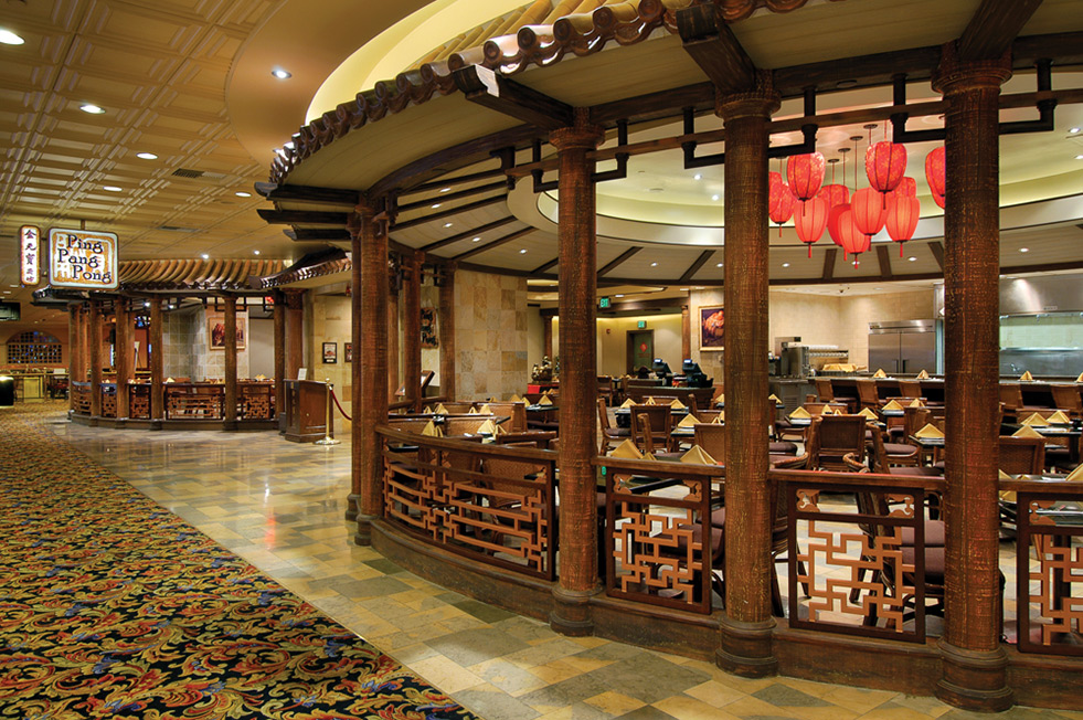 Ping pang pong chinese restaurant in las vegas gold for Asian cuisine las vegas