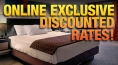 Online Exclusive Discounted Rates!