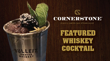 Featured Crafted Whiskey Cocktail Blackberry Julep