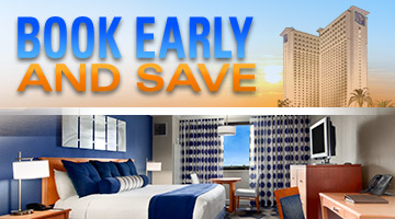 Book early and save up to 10% in May!