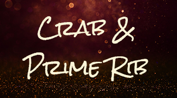 Crab and Prime Rib Buffet!