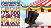 $75,000 Under the Big Top Giveaway