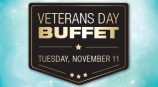 Receive a Complimentary Buffet on Veterans Day!