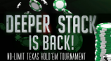 Deeper Stack No Limit Texas Hold'Em Tournament