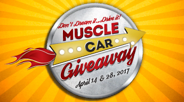 Win A Muscle Car & $5,000 Cash