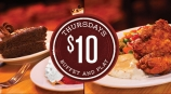 Buffet & Play! $10 Thursdays!