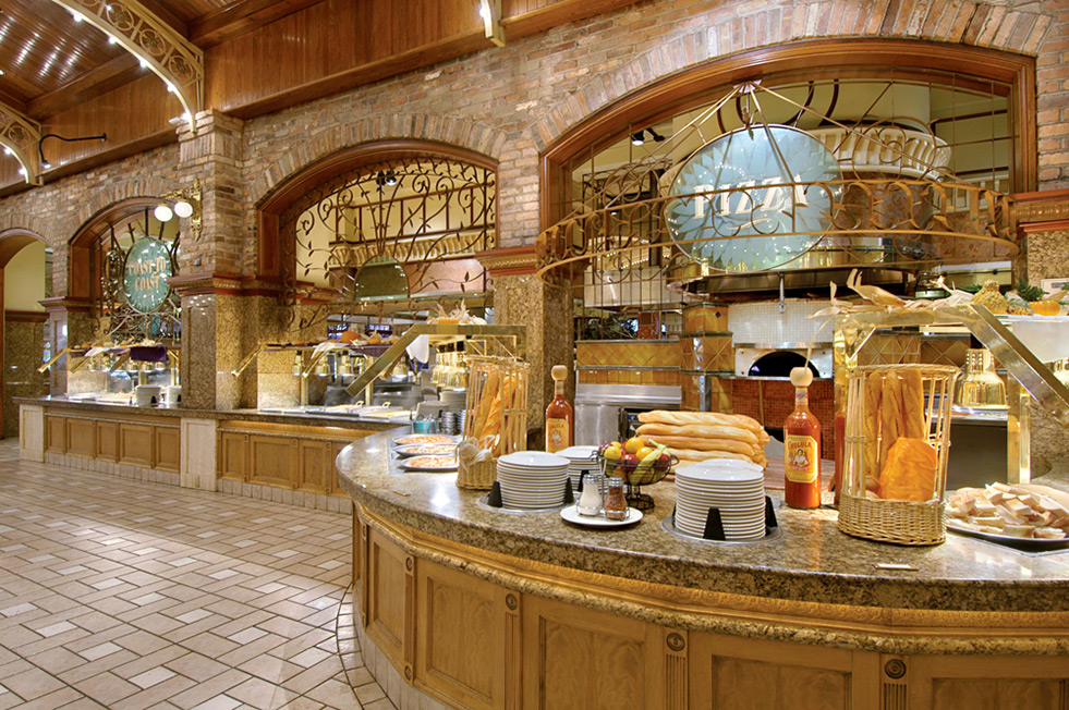 Garden Court Buffet in Downtown Las Vegas - Main Street Hotel