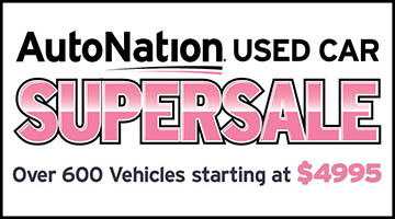 AutoNation Used Car Supersale