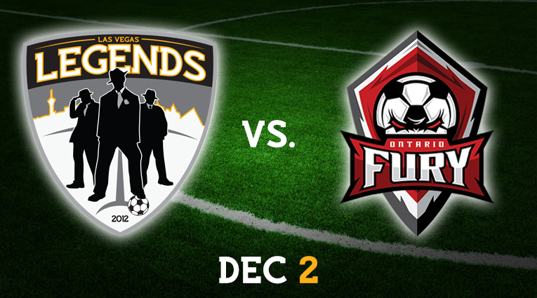 Las Vegas Legends vs. Ontario Fury