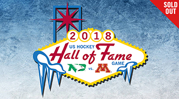 2018 US Hockey Hall of Fame Game UND vs. UMN