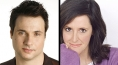 Adam Ferrara and Wendy Liebman