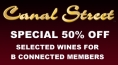 50% Off Selected Wines For B Connected Members