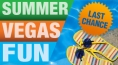 Summer Vegas Fun - Packages From $34.99 + Food Credit