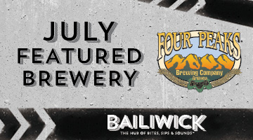 Featured Sips This July on Bailiwick's Taps - Four Peaks