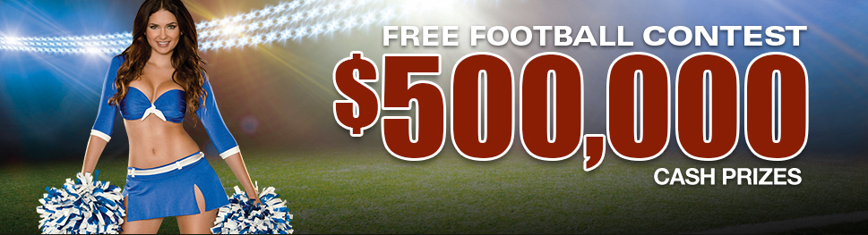 Play Las Vegas' Longest-Running Free Football Contest