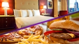 Room Rate includes Credit to Any Food Outlet!