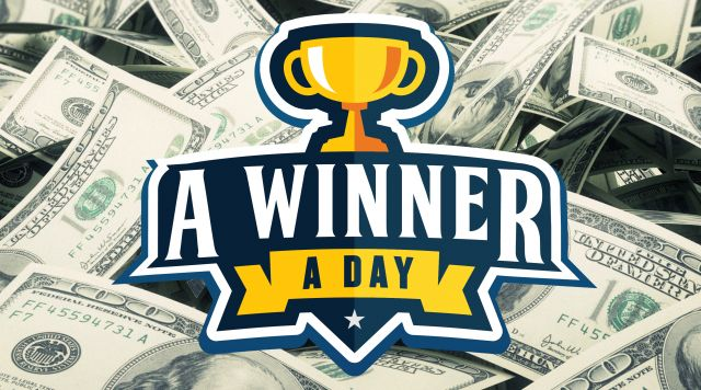 Win Up to $1,000 SLOT DOLLARS Each Day!