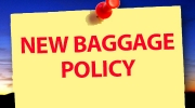 New Baggage Policy