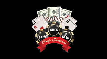 $10,000 Cards, Chips & Cash Blackjack Tournament
