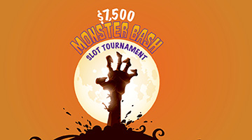 $7,500 Monster Bash Slot Tournament