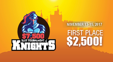 $7,500 Slot Tournament of Knights